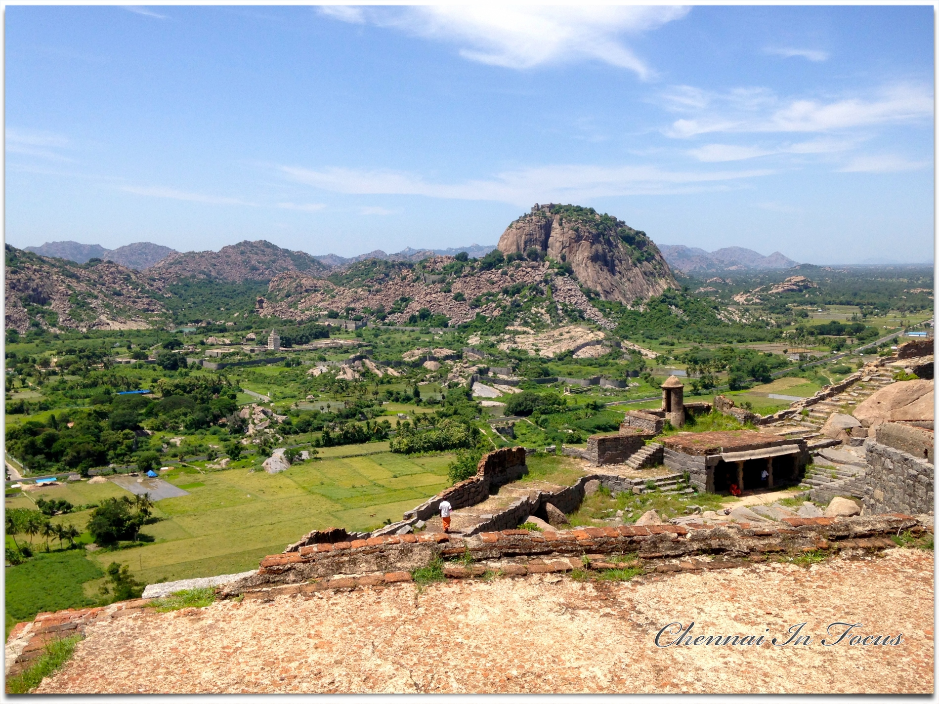 Gingee Fort or Senji Fort
