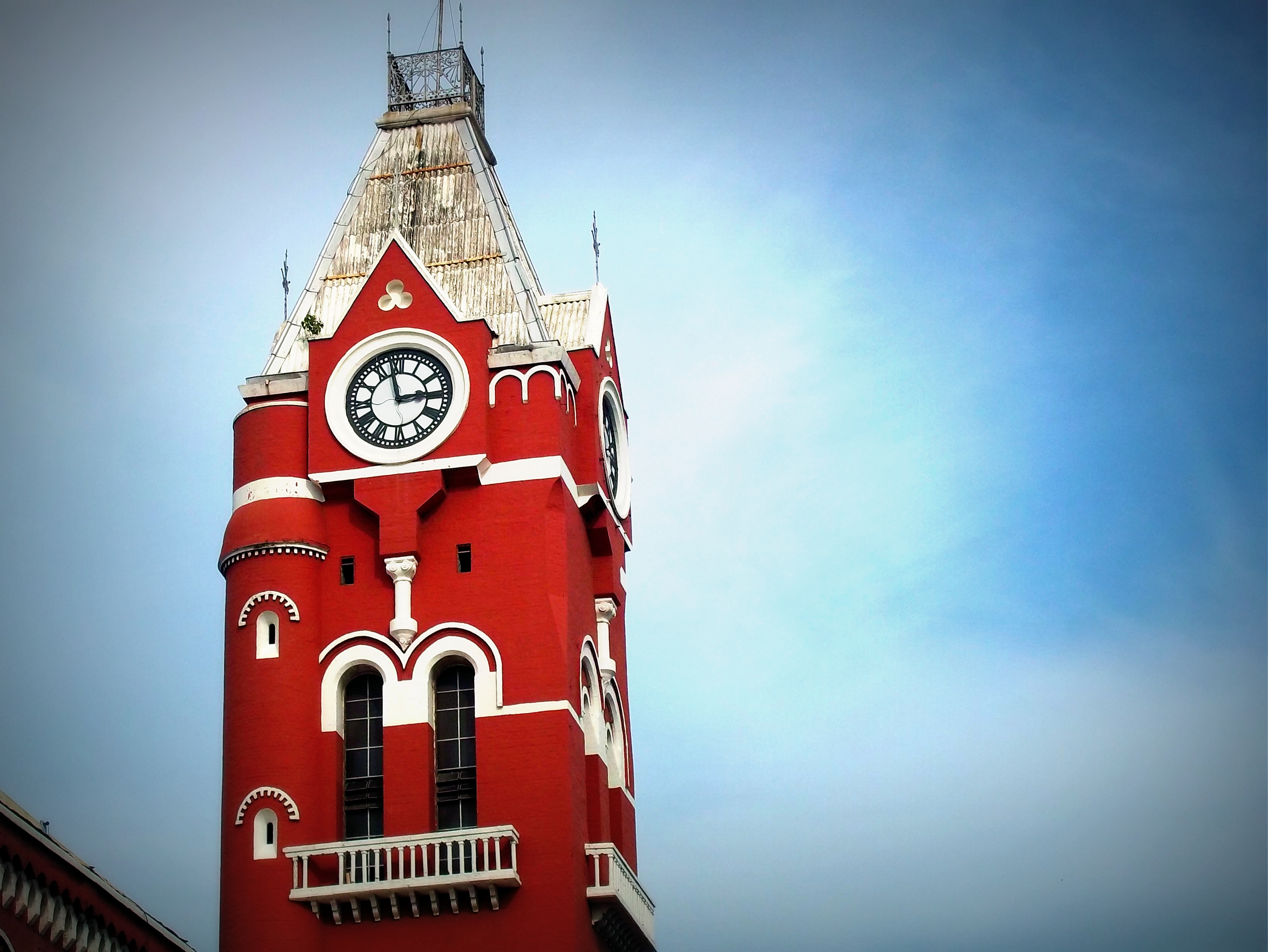 Chennai Central Railway Station Tower Clock
