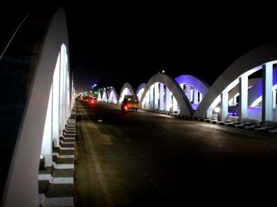 Marina Napier Bridge Chennai | Napier Bridge | Napier Bridge In Marina Beach Chennai