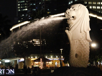 Merlion Park | Singapore landmark | tourist attraction