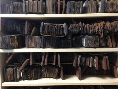Palm-leaf manuscripts are manuscripts made out of dried palm leaves (tamil manuscripts) தமிழ் ஓலைச்சுவடிகள்