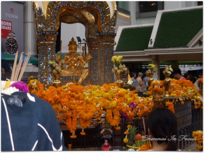 Erawan Shrine in Bangkok Thailand