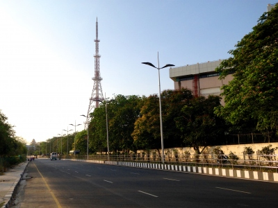 Doordarshan tv tower | DD Tower | Doordarshan tv station